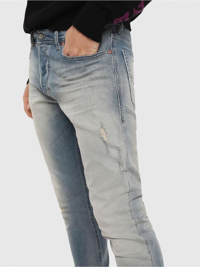 Diesel - Tepphar 081AP, Blu Chiaro - Jeans - Image 4