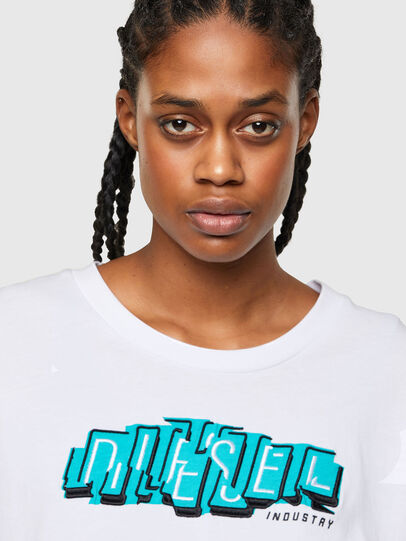Diesel - T-BOWLESS-A1, Bianco - T-Shirts - Image 3