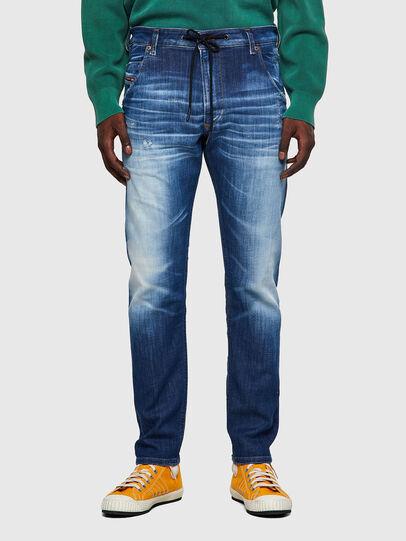 Diesel - Krooley JoggJeans® 09B52, Blu medio - Jeans - Image 1
