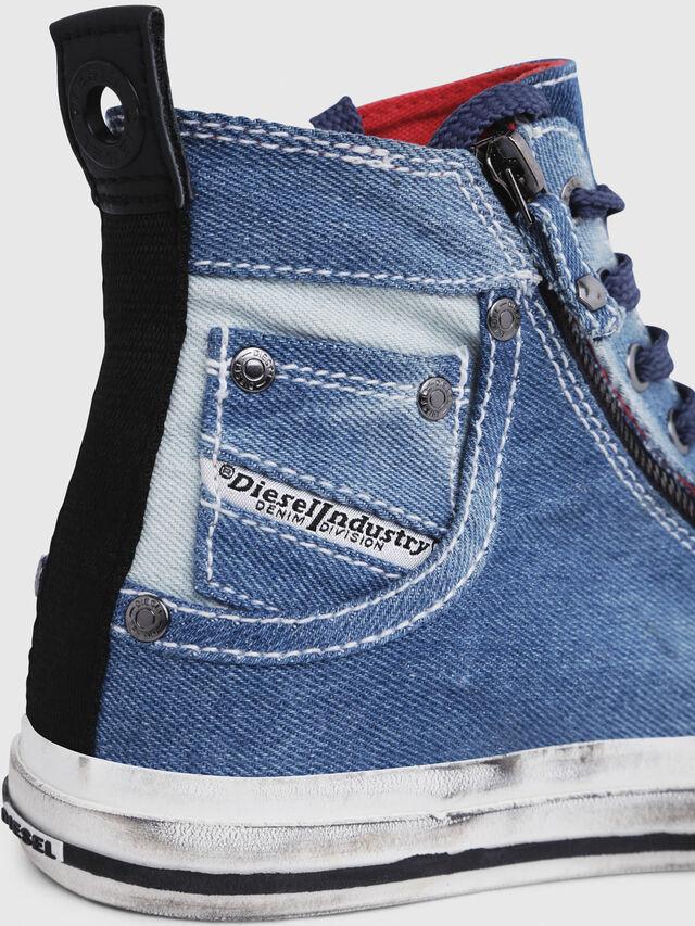 Diesel - EXPO-ZIP W, Blu Jeans - Sneakers - Image 5