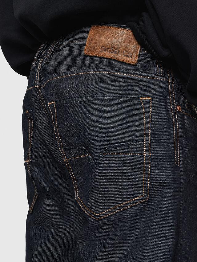 Diesel - Larkee-Relaxed 0088Z, Blu Scuro - Jeans - Image 4