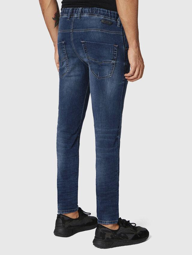 Diesel Krooley JoggJeans 0686W, Blu Scuro - Jeans - Image 2