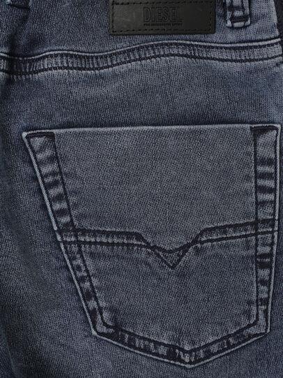 Diesel - KROOLEY-J SH JOGGJEANS, Blu medio - Shorts - Image 4