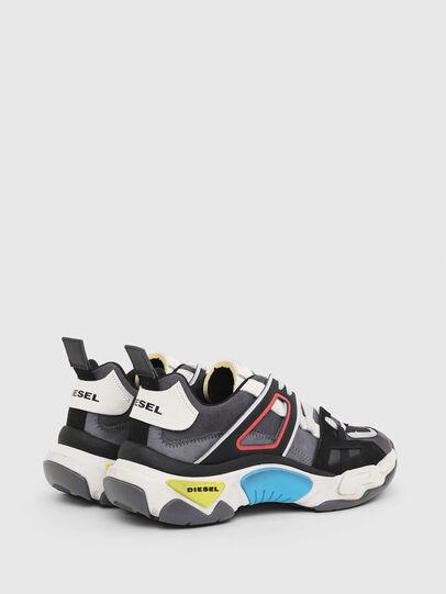 Diesel - S-KIPPER LOW TREK II, Grigio/Bianco - Sneakers - Image 3