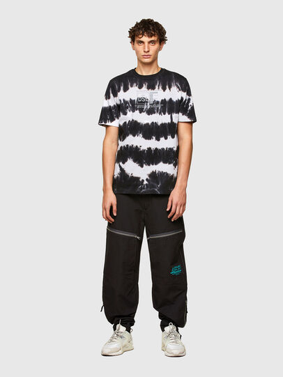 Diesel - T-JUST-A38, Nero/Bianco - T-Shirts - Image 4