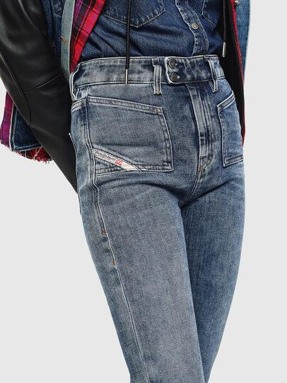 Diesel - D-Earlie 0098W, Blu medio - Jeans - Image 3