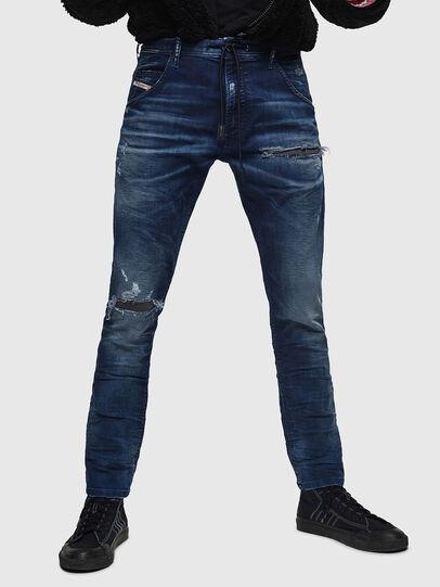Diesel - Krooley JoggJeans 069JE, Blu Scuro - Jeans - Image 1