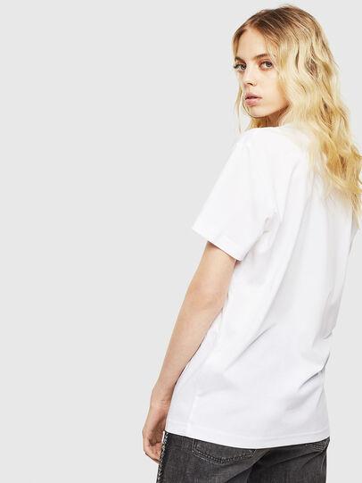 Diesel - T-DIEGO-J8, Bianco - T-Shirts - Image 4
