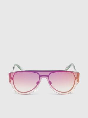 DL0273, Rosa/Bianco - Occhiali da sole