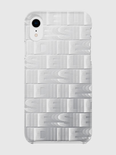 Diesel - DIESEL PRINTED CO-MOLD CASE FOR IPHONE XR, Bianco - Cover - Image 2
