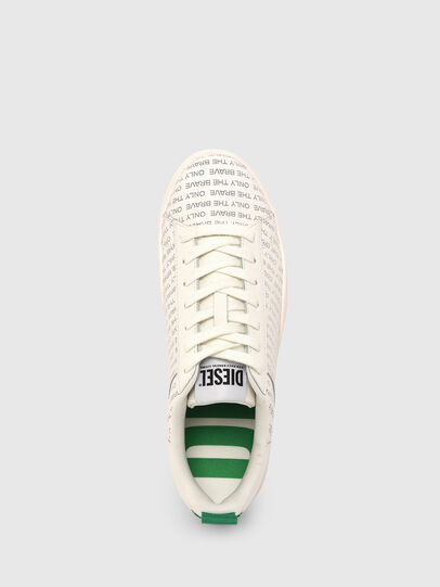 Diesel - S-CLEVER LOW LACE, Bianco/Verde - Sneakers - Image 6