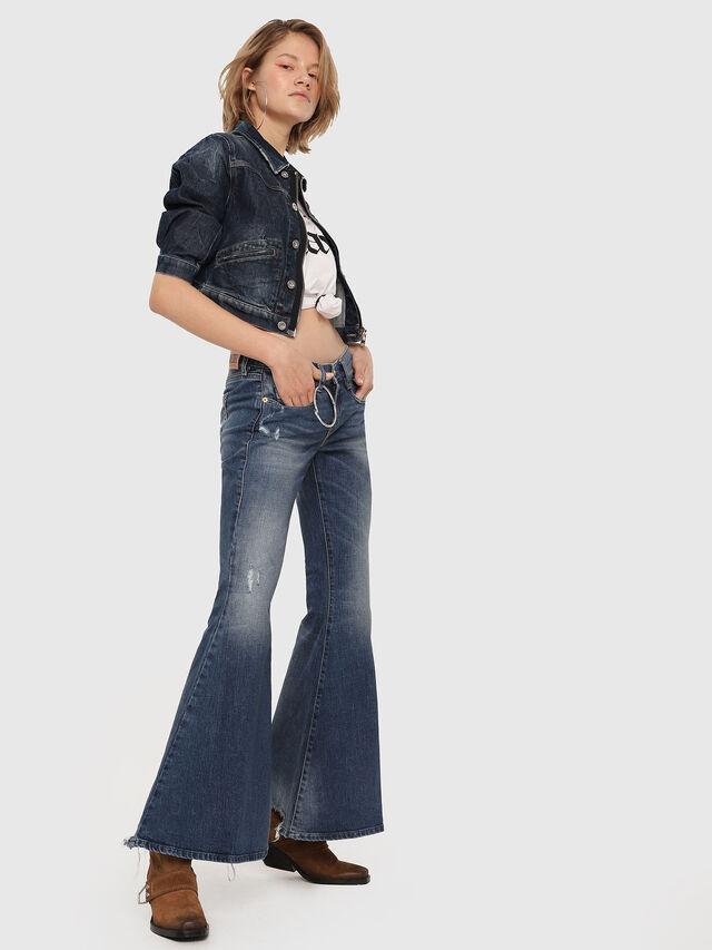 Diesel - D-Ferenz 081AN, Blu medio - Jeans - Image 4