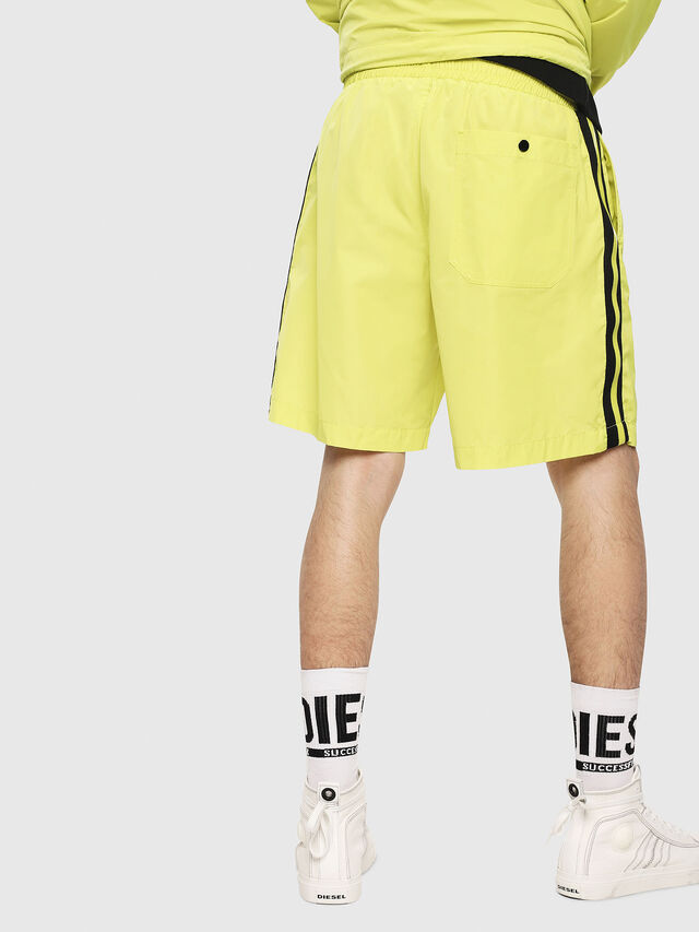 Diesel - P-BOXIE, Giallo Fluo - Shorts - Image 2