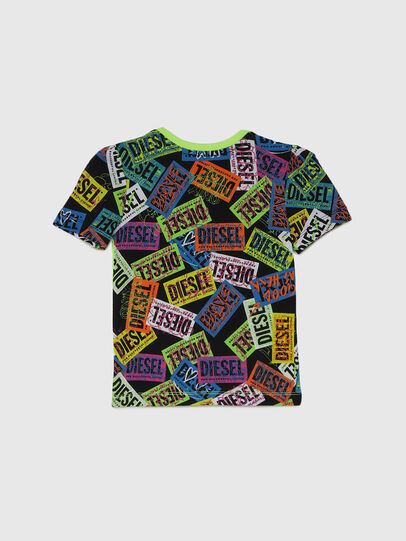 Diesel - TAIRB-R, Verde/Nero - T-shirts e Tops - Image 2