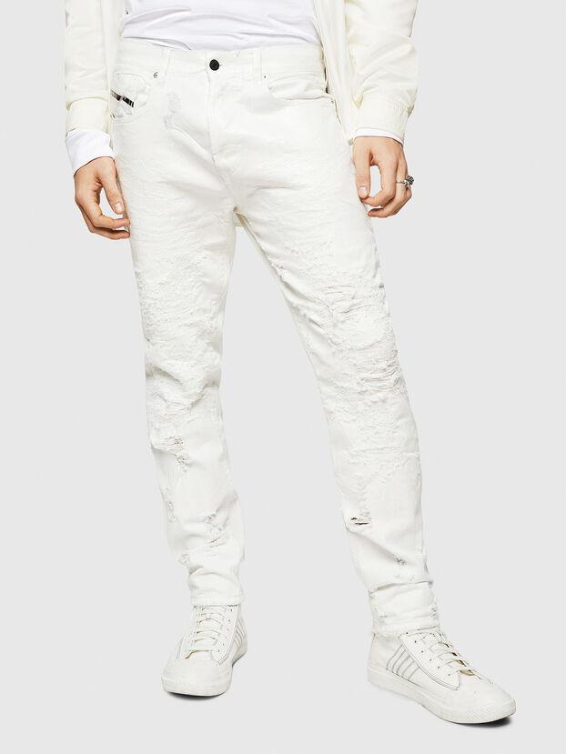 Mharky 069GY, Bianco - Jeans