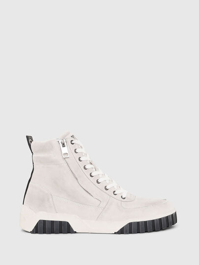 Diesel - S-RUA MID, Bianco - Sneakers - Image 1