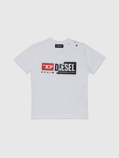 Diesel - TDIEGOCUTYB, Bianco - T-shirts e Tops - Image 1