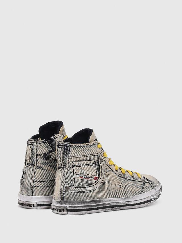 Diesel - SN MID 20 EXPOSURE Y, Grigio Jeans - Scarpe - Image 3