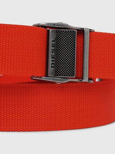 Diesel - B-ONAVIGO, Arancione - Cinture - Image 3