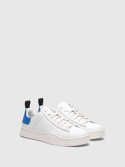Diesel - S-CLEVER LOW LACE, Bianco/Blu - Sneakers - Image 2
