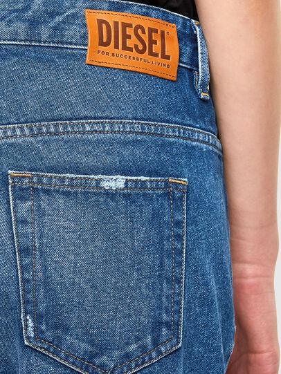 Diesel - Fayza 0079R, Blu medio - Jeans - Image 4