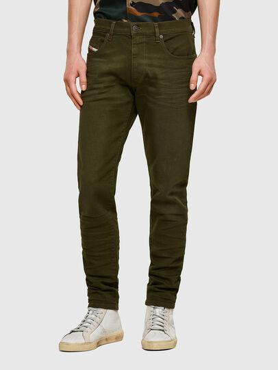 Diesel - D-Strukt 009ZF, Verde Militare - Jeans - Image 1