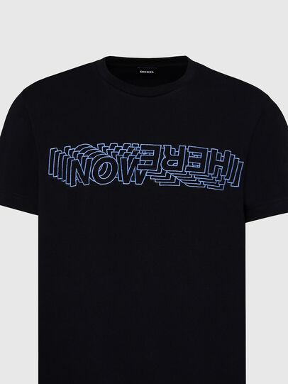 Diesel - T-DIEGOS-X70, Nero - T-Shirts - Image 3