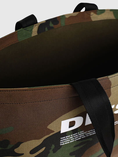 Diesel - D-THISBAG SHOPPER L, Verde Camo - Shopper e Borse a Spalla - Image 5
