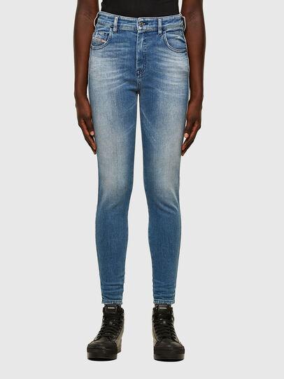 Diesel - Slandy High 009JI, Blu Chiaro - Jeans - Image 1