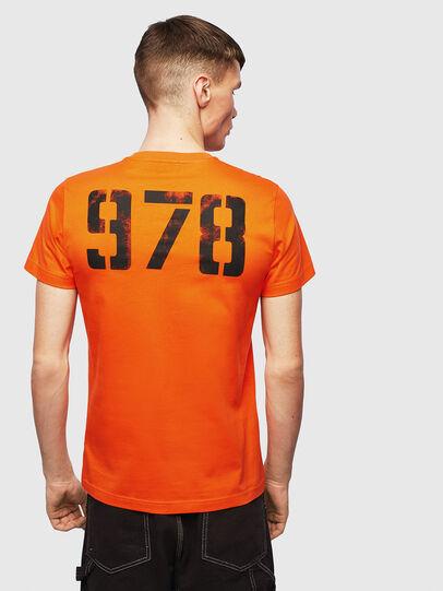 Diesel - T-DIEGO-S2, Arancione - T-Shirts - Image 2