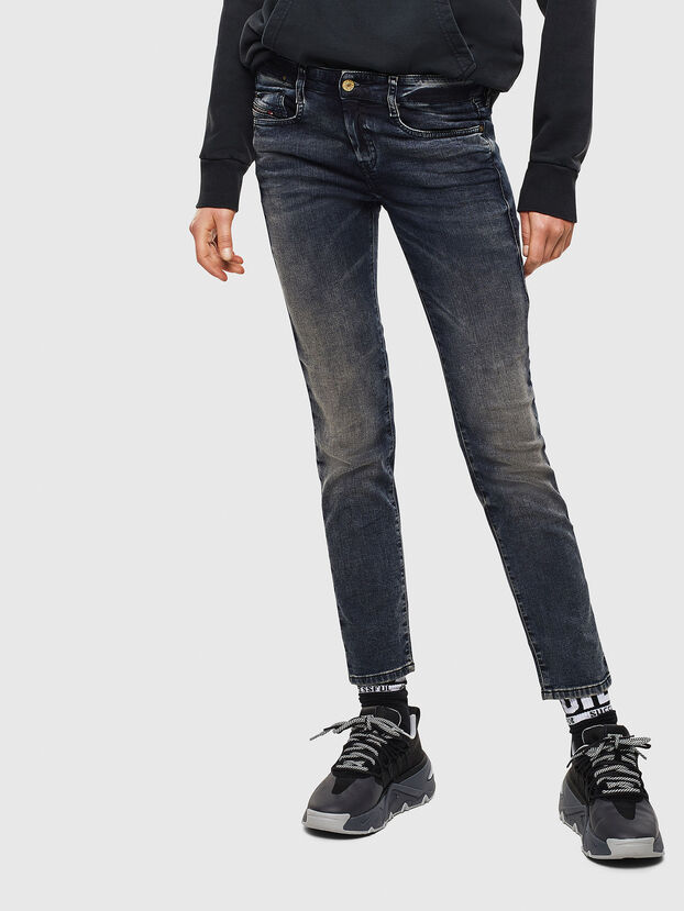 D-Ollies JoggJeans 069GD, Blu Scuro - Jeans