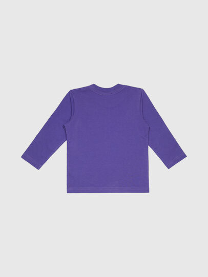 Diesel - TJUSTLOGOB-FL ML-R, Viola - T-shirts e Tops - Image 2