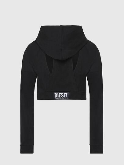 Diesel - UFLT-ANGHEL, Nero - Felpe - Image 2