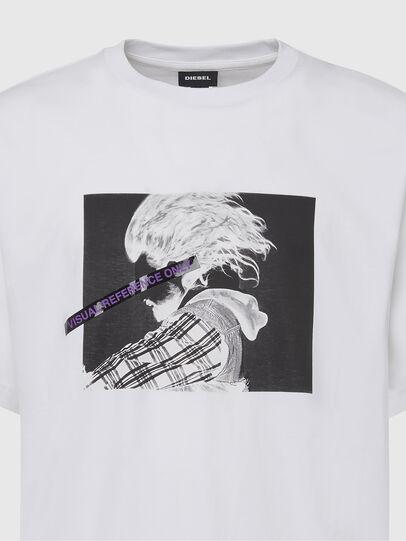 Diesel - T-TUBOLAR-X20, Bianco - T-Shirts - Image 3