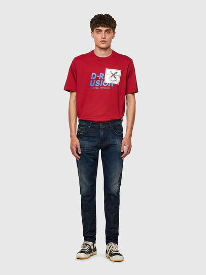 Diesel - D-Strukt JoggJeans® 09B50, Blu Scuro - Jeans - Image 5