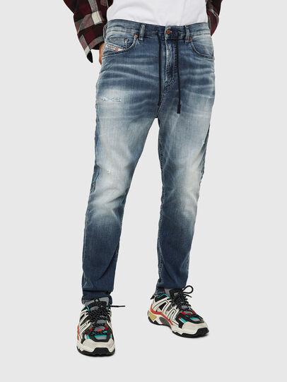 Diesel - D-Vider JoggJeans 069IP, Blu medio - Jeans - Image 1