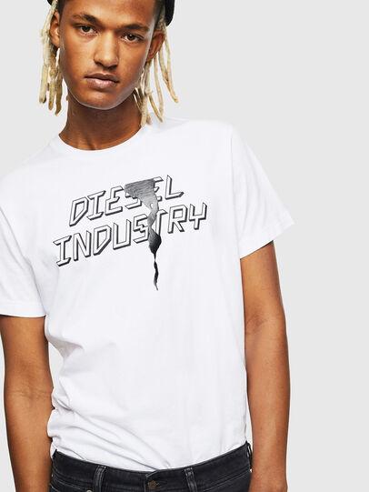 Diesel - T-DIEGO-J25, Bianco - T-Shirts - Image 4