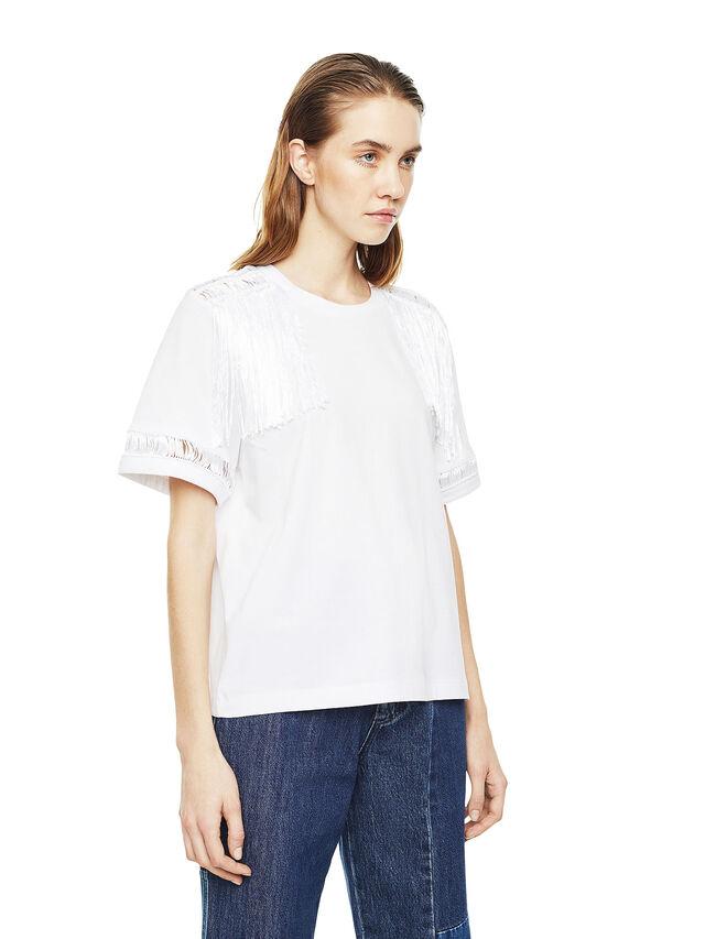 Diesel - TREENA, Bianco - T-Shirts - Image 3