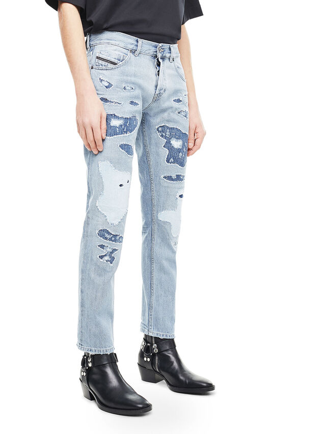 Diesel - TYPE-2813, Blu Chiaro - Jeans - Image 3