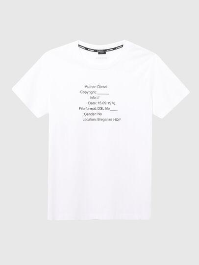 Diesel - UFTEE-ELODIE, Bianco - T-Shirts - Image 1