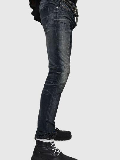 Diesel - Sleenker 0870J, Nero/Grigio scuro - Jeans - Image 3