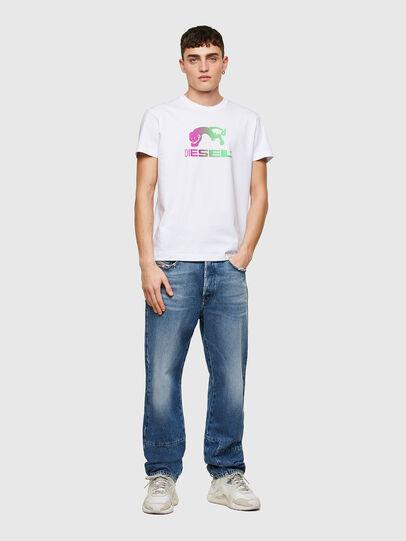 Diesel - T-DIEGOS-E30, Bianco - T-Shirts - Image 4