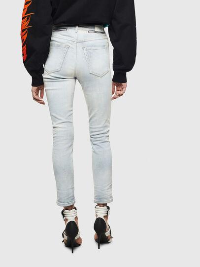 Diesel - Babhila High 009AX, Blu Chiaro - Jeans - Image 2