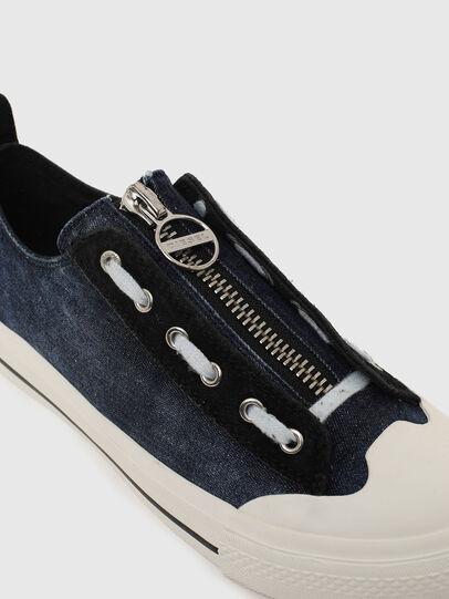 Diesel - S-ASTICO LZIP W, Blu - Sneakers - Image 4