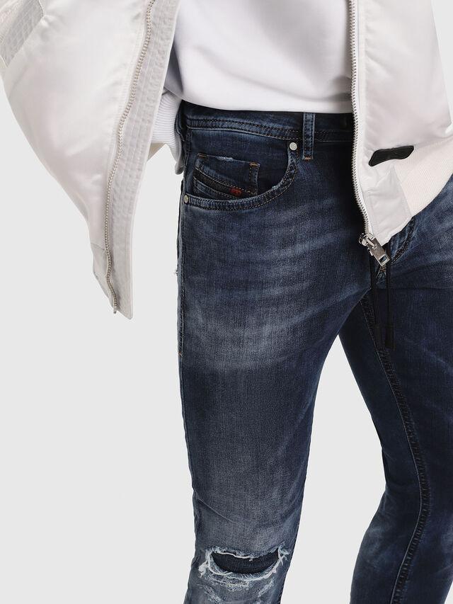 Diesel - Thommer JoggJeans 069AA, Blu Scuro - Jeans - Image 3