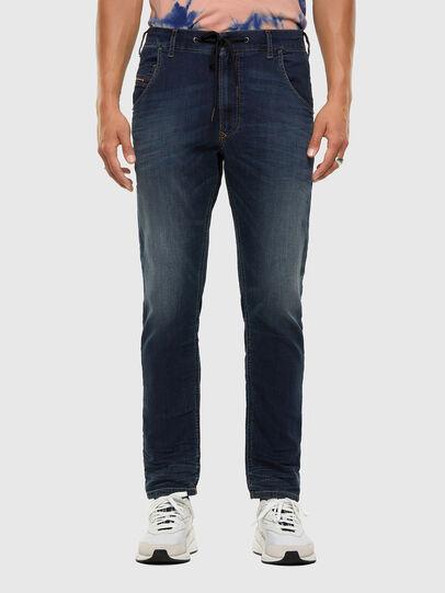 Diesel - Krooley JoggJeans 069NE, Blu Scuro - Jeans - Image 1