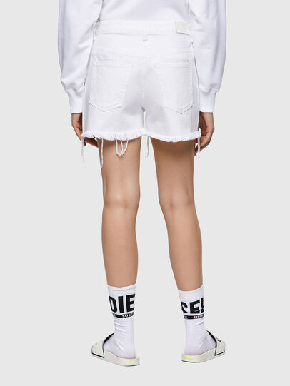 Diesel - DE-REG-R, Bianco - Shorts - Image 2