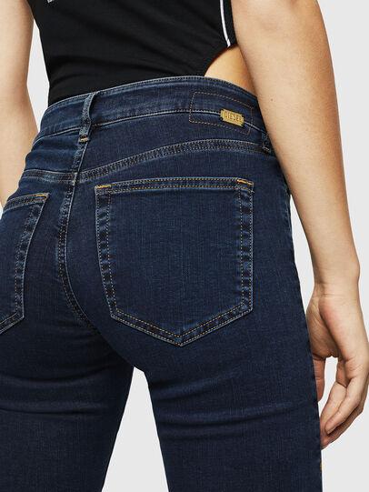 Diesel - Slandy Zip 083AM, Blu Scuro - Jeans - Image 3