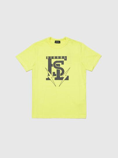 Diesel - TDIEGOB14, Giallo - T-shirts e Tops - Image 1