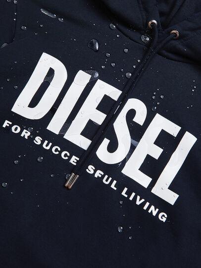 Diesel - S-GIR-HOOD-DIVISION-, Blu Scuro - Felpe - Image 6